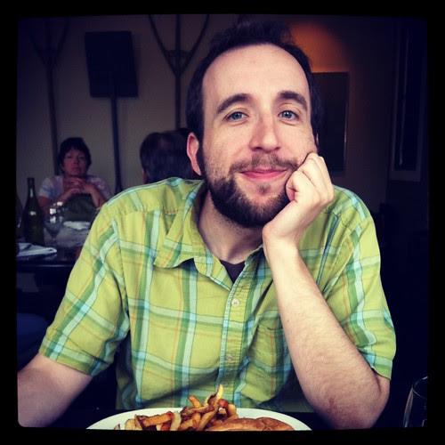 Chris at Soe Cafe