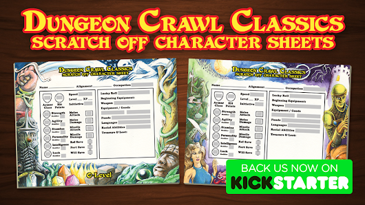 Update 19: MCC Scratch-Off Sheets AS Add-Ons · Dungeon Crawl Classics Scratch-Off Character Sheets