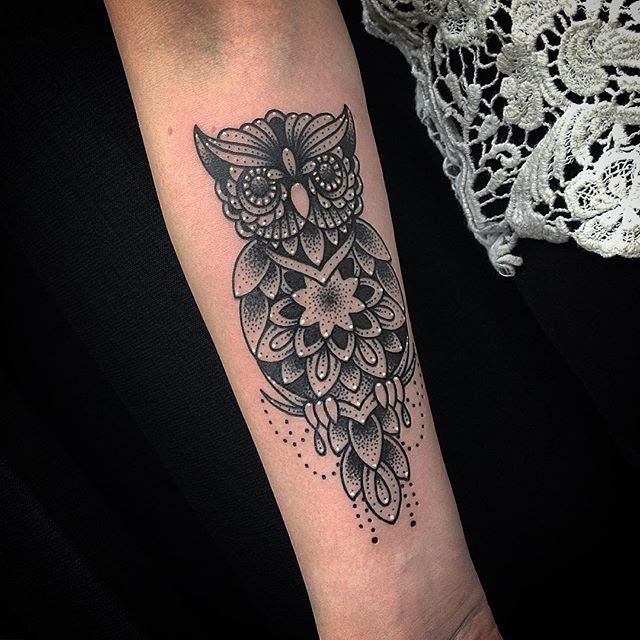 39 Mandala Tattoos On Forearm