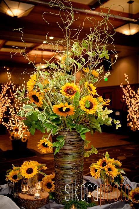 25  Best Ideas about Sunflower Centerpieces on Pinterest