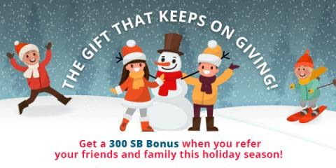 Get 300 bonus SB when you sign up for Swagbucks in January!
