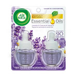 Air Wick Scented Oil Refill, Lavender/Chamomile - 2 pack, 0.67 oz each
