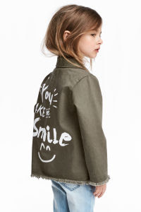 Download Utility Jacket   Khaki green   KIDS   H&M US