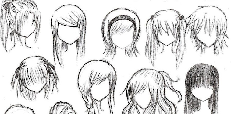 Girl Drawing Anime Hairstyles
