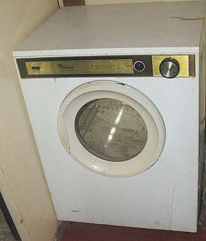 A clothes dryer.
