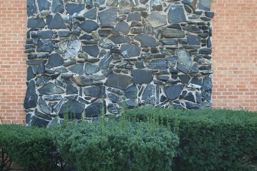 Random rubble wall