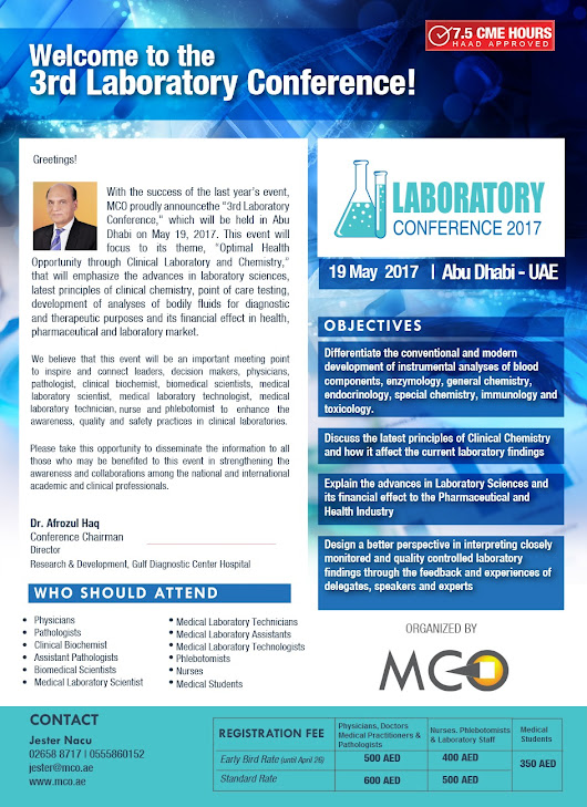 3rd Laboratory Conference 2017