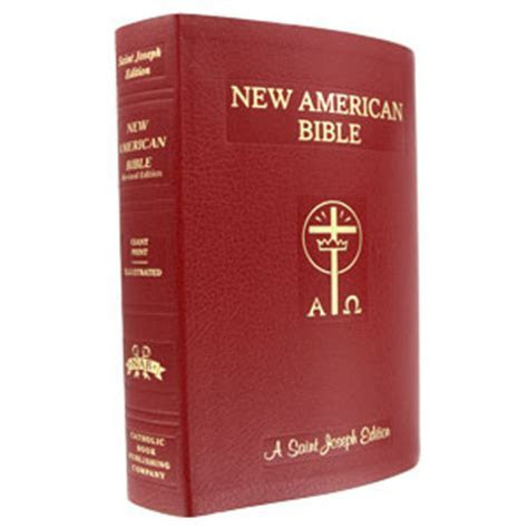 Large Print Catholic Bible   NABRE 616/10R