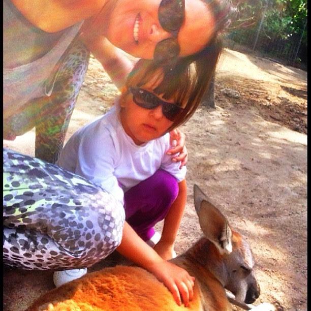 Ticiane Pinheiro com a filha, Rafaella Justus, em Miami, nos Estados Unidos (Foto: Instagram/ Reprodução)