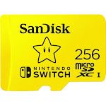 SanDisk - 256GB microSDXC Memory Card for Nintendo Switch