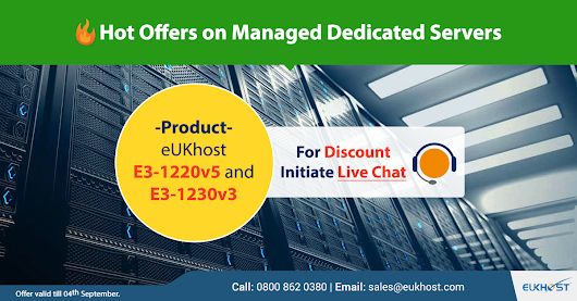 Hot Offers on eUKhost Managed Dedicated Servers - eUKhost Official Web Hosting Forum