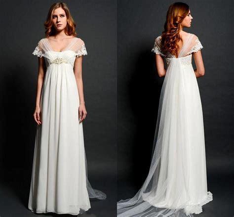 Sheer Lace Bolero Cap Sleeves Wedding Dresses 2015 For