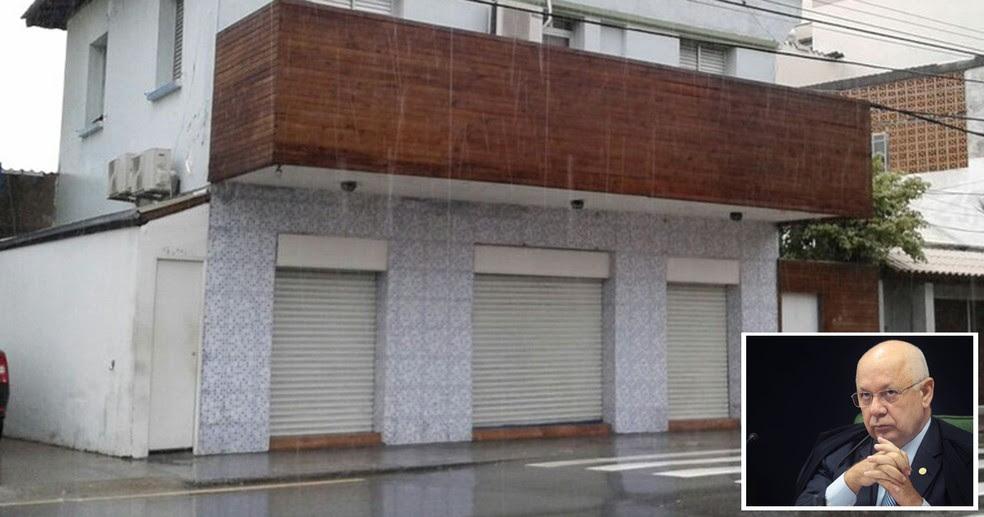Crime aconteceu no bairro Estreito, na área continental de Florianópolis (Foto: Júlio Ettore/RBS TV e Nelson Jr./SCO/STF )