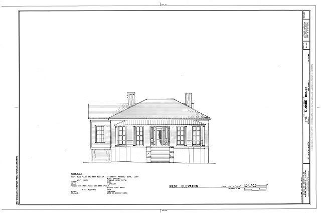 HABS ALA,41-OPEL,1- (sheet 5 of 9) - Kilgore House, 411 Geneva Street, Opelika, Lee County, AL