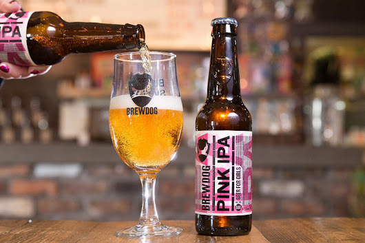 BrewDog launches a pink 'beer for girls'