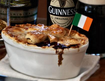 Beef and Guinness Pie | Food Ireland Irish Recipes