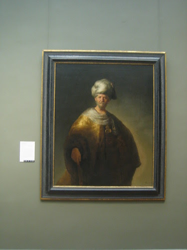 Man in Oriental Costume (''The Noble Slav''), 1632, Rembrandt (Rembrandt van Rijn) _8281