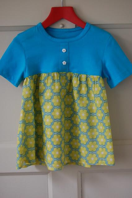 Blue T-Shirt Tunic