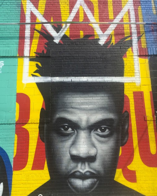 One of my popular photo tours is of Bushwick street art. This is a mash up of Jean-Michel Basquiat and...