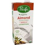 Pacific Foods Organic Almond Milk Unsweetened Vanilla 32 fl oz