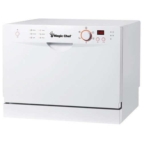 Magic Chef MCSCD6W3 Countertop Dishwasher Review