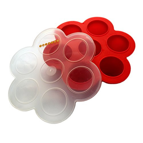 NEW Homemade Baby Food Storage Containers - Silicone ...
