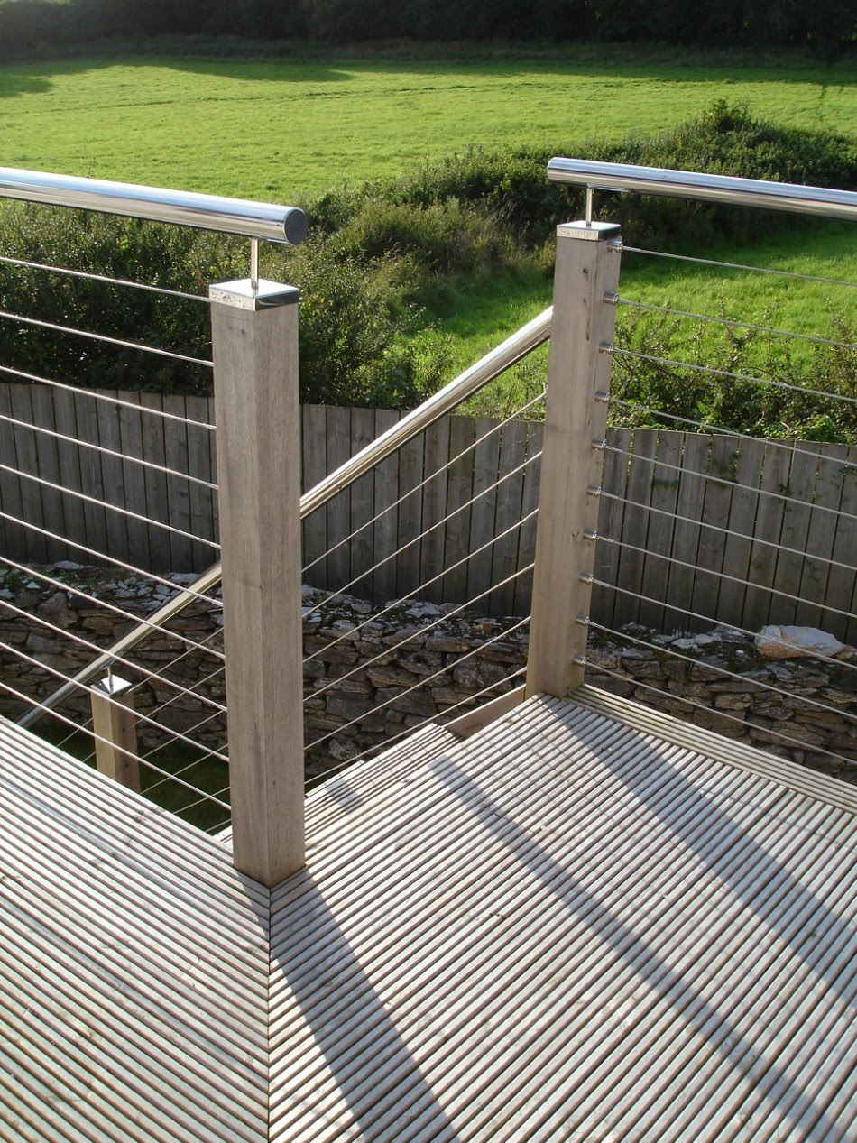 Wire Balustrade Kits - Wire Design - For Decking and Stair Balustrades