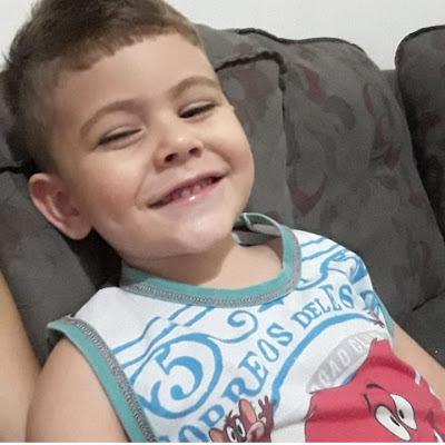 Luto: Após luta contra a leucemia, Paulistense de 4 anos que mobilizou campanhas na internet morre no Hospital Laureano em João Pessoa/PB
