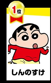 クレヨンしんちゃん原作キャラクター人気投票 ニコニコ静画