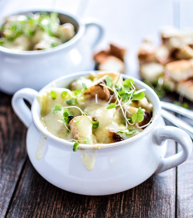 Brown Ale French Onion Soup