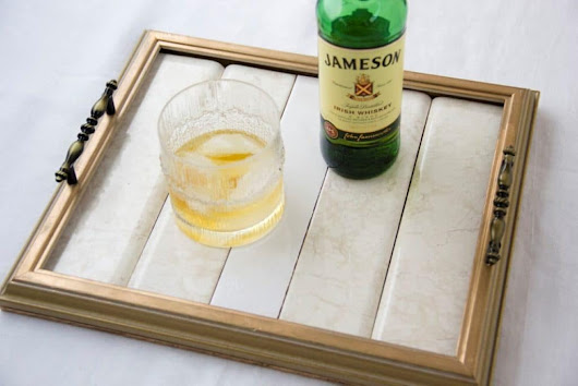 Bride to Be Guest Blog: DIY Serving Tray Tutorial Using Frames | Capitol Romance ~ Real DC Weddings