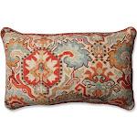 Pillow Perfect Madrid Persian / Tweak Sedona Rectangular Throw Pillow