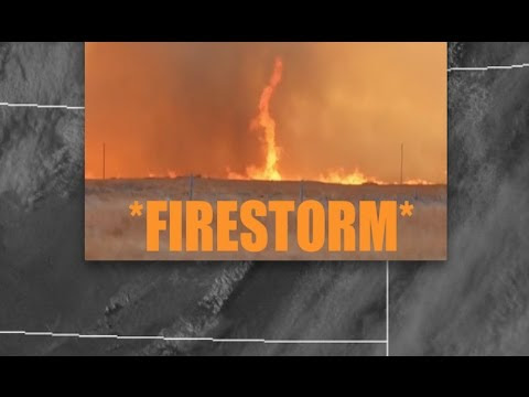 "*Firestorm* SCORCHES the Earth! | ""Blackens"" over a million acres in HOURS! - YouTube"