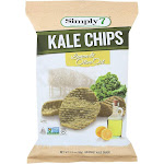 Simply 7 Kale Chips - Lemon and Olive Oil - 3.5 Ounce -PACK 12