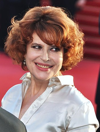 English: Fanny Ardant, French actress, at the ...