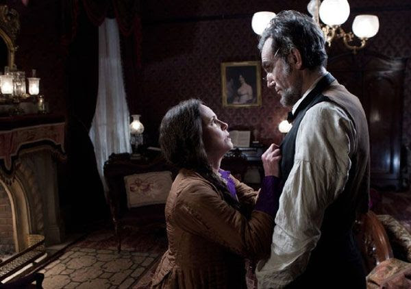 2013 Best Actor winner Daniel Day-Lewis and Sally Field in LINCOLN.