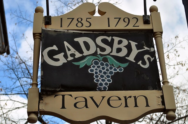Gadsby's Tavern Sign