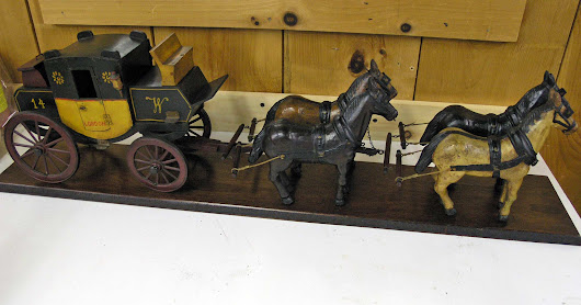 Miniature Stagecoach – Repair and Polish