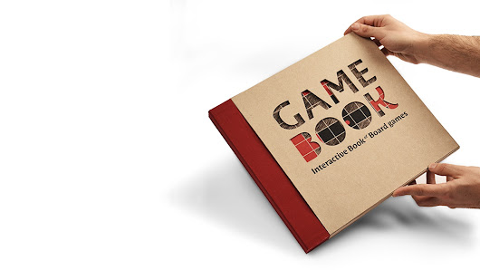 GAMEBOOK - Interactive Book of Board Games
