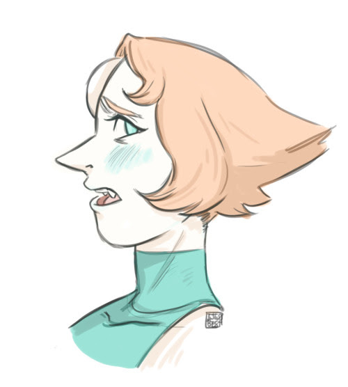 Anonymous said: Hear me out, Pearl with fangs. Answer: I hear you (I am so not used to drawing pearl)