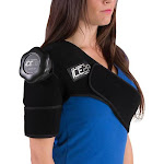 Bownet ICE20 Single Shoulder Ice Compression Wrap for Sports Shoulder Injuries by VM Express