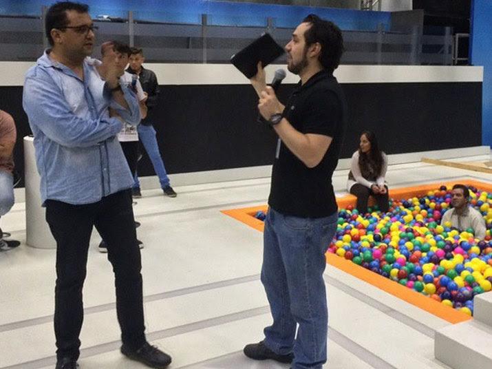 Rafael Perantunes e Geraldo Luís (Foto: Reprodução)