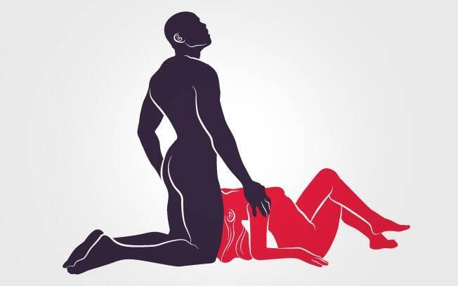 61. ORAL EXTREMO: Ele penetra na boca da parceira, que deitada o acaricia por baixo . Foto: Renato Munhoz (Arte iG)