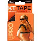 KT Tape Kinesiology, Pro, Jet Black - 20 strips