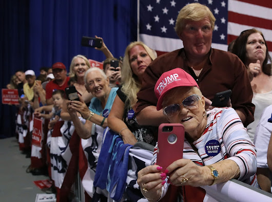 The media is priming Donald Trump supporters for a loss