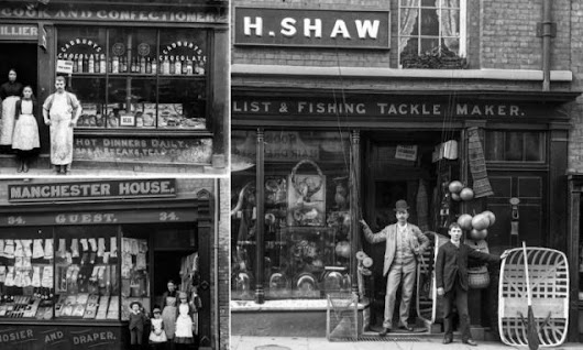 How one high street in Britain looked 125 years ago