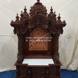 Wooden Temple For Home Wooden Mandir Usa Ma Enterprise