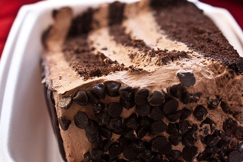 chocolate layer cake!what i wouldn't give to taste this right now..