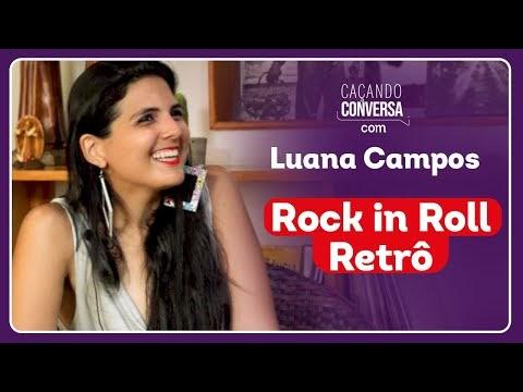 Caçando Conversa com a cantora Luana Campos, vocalista da Top Gun