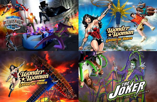 Details of the New Rides at Six Flags Parks in 2017